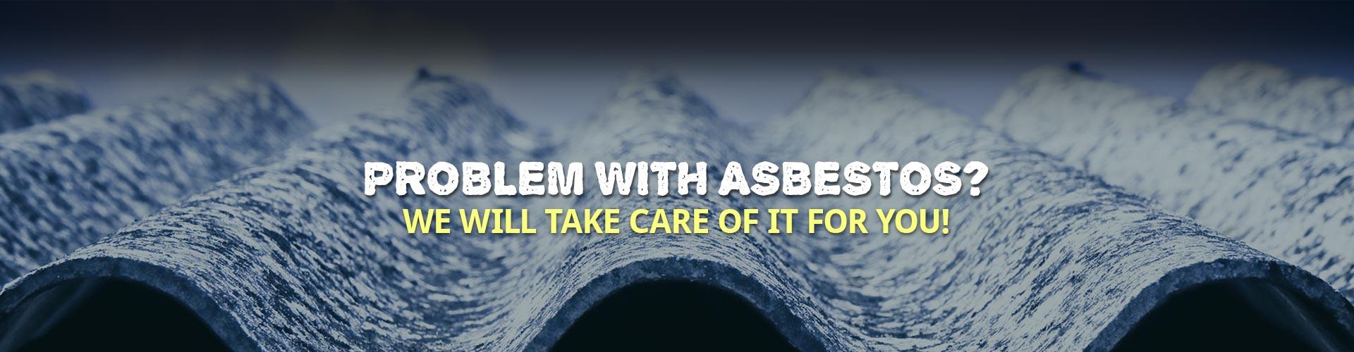 Asbestos Problem Slider
